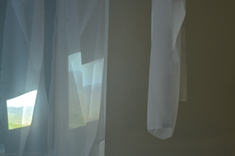 "Sara Ocklind's ""Veiling"" exhibition opening at Tent Gallery."