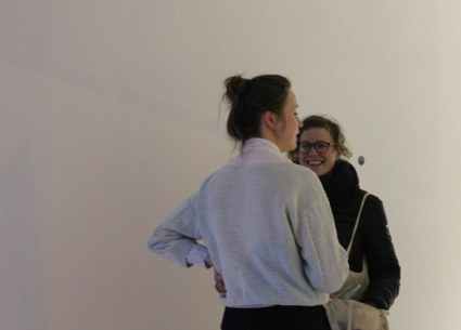 """Sara Ocklind's """"Veiling"""" exhibition opening at Tent Gallery."""