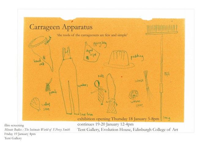 carrageen apparatus poster